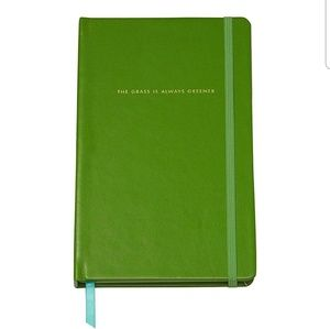 """Kate Spade """"The Grass Is Always Greener"""" Notebook"""